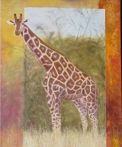 Giraffe Noord Kenia