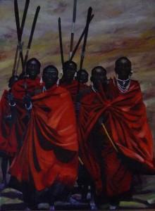 Masai mannen Kenia
