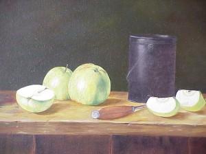 Stilleven appels