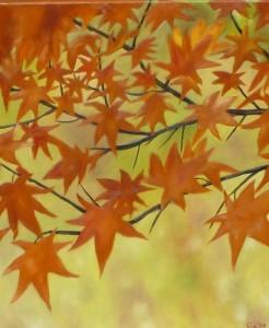 Vlammende herfst