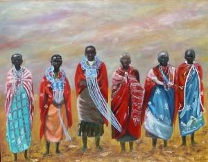 Vrouwen Masai Mara